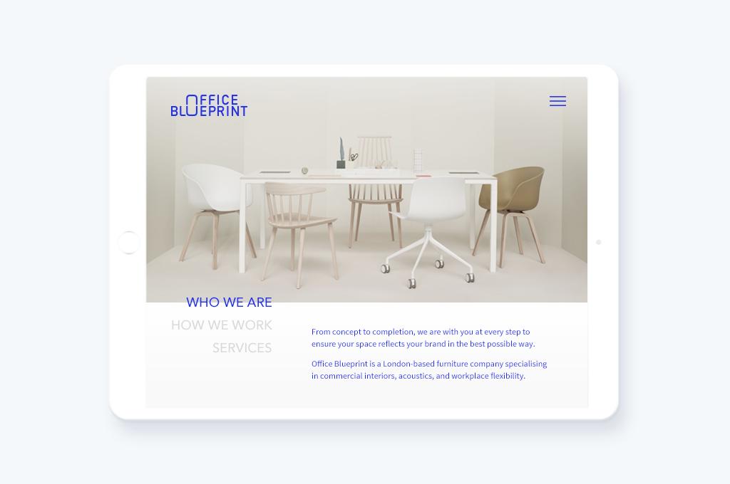 OFFICE BLUEPRINT – brand identity