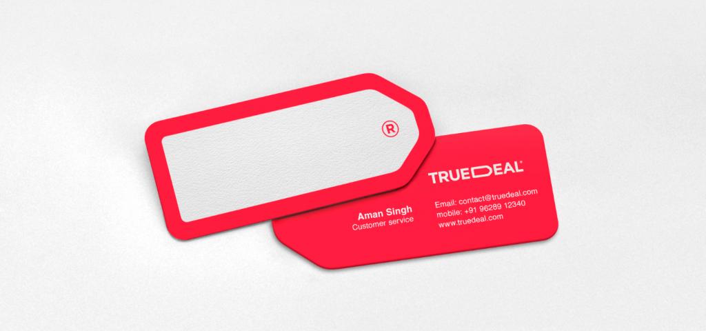 Truedeal business card