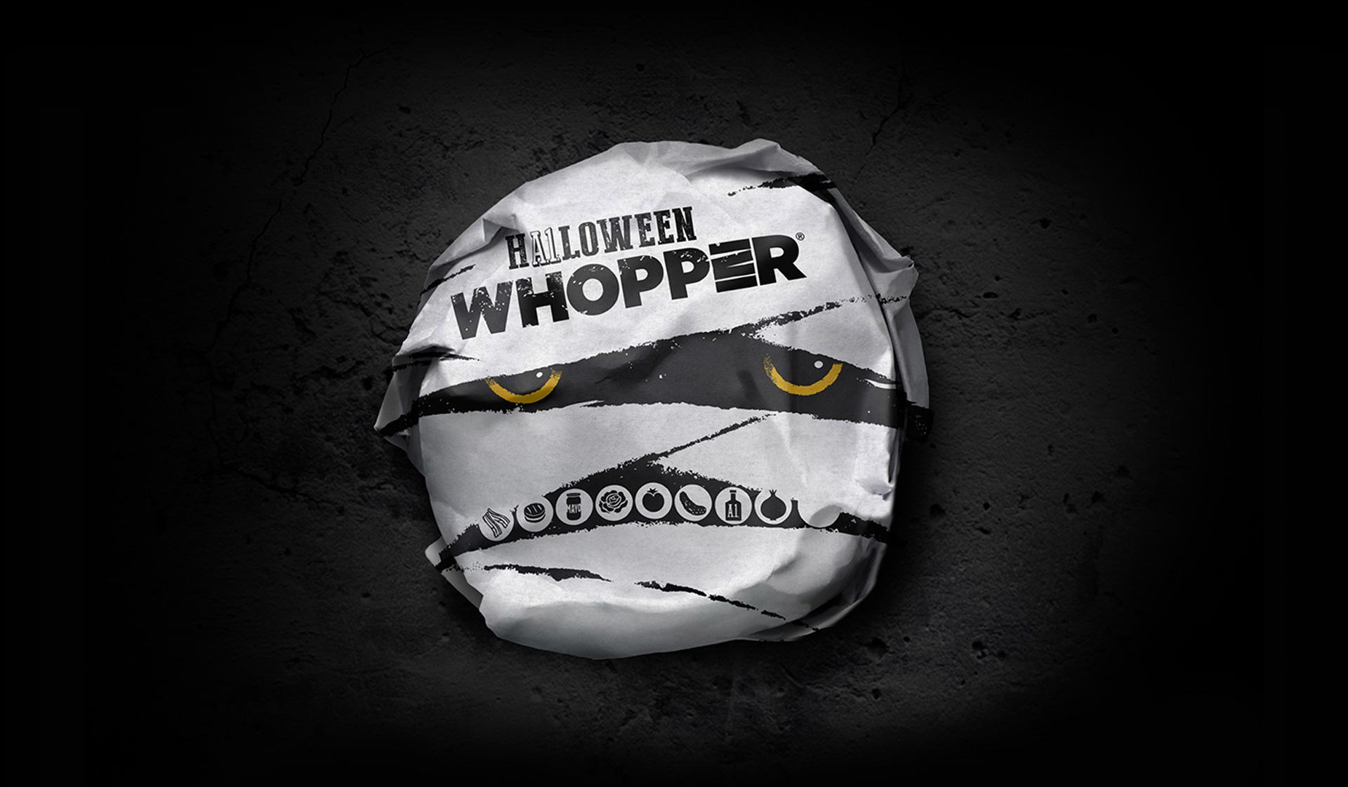BURGER KING: Halloween Packaging Design