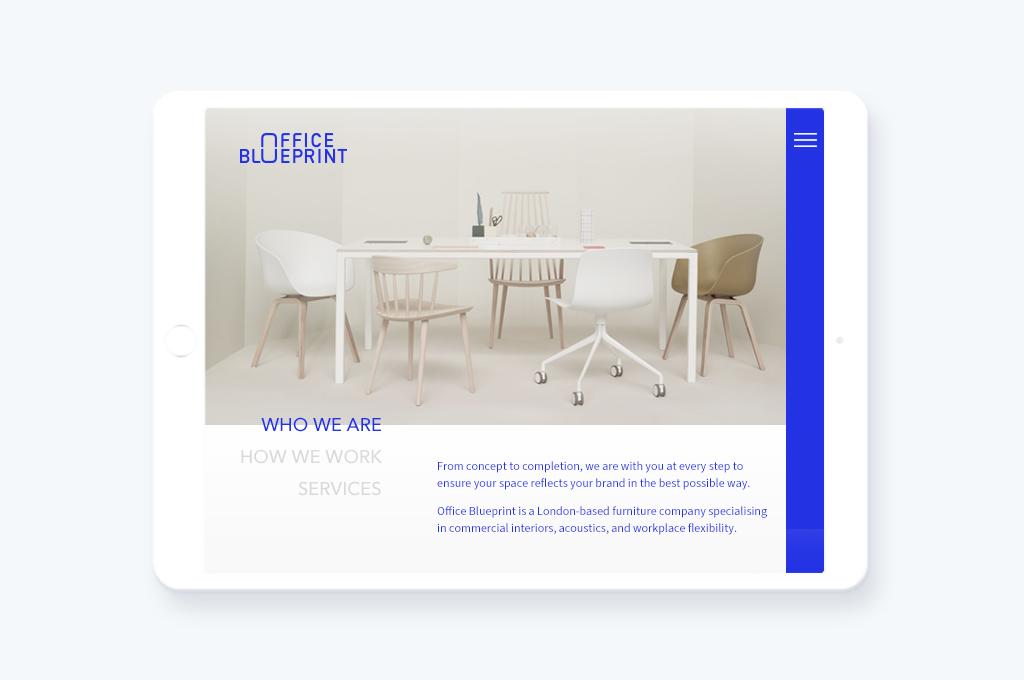 OFFICE BLUEPRINT brand identity